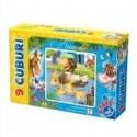 9 cuburi cu animale 61027 CB 01