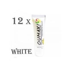 Set vopsele acrilice OUMAXI alb/white 12 x 12ml