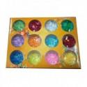 Sclipici fulgi de gheata set 12 bucati CD014