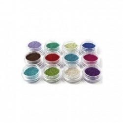 Bilute caviar pentru unghii - set 12 piese