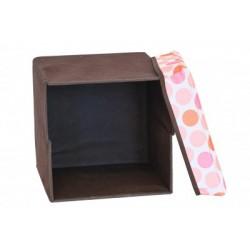 Taburet pentru copii cu cutie de depozitare