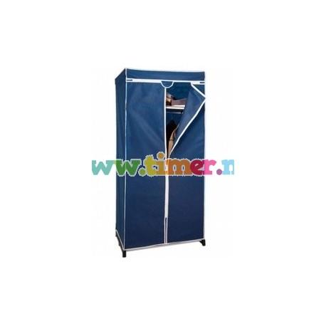 Dulap textil portabil pentru depozitare, cu cadru metalic E001