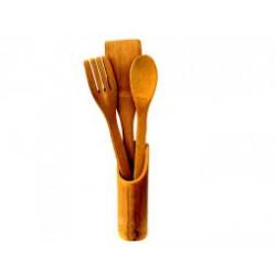 Set tacamuri din bambus