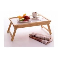Masuta de bambus plianta de servit masa in pat