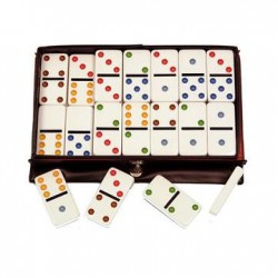 Joc DOMINO Double 6 Color