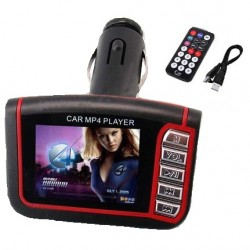 Modulator Auto- FM Mp4/Mp3 cu redare video